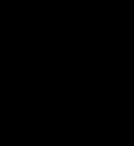 Emblem zwart